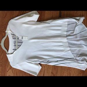 Anthro Cream Shirt
